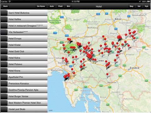 "App ""Guida Turismo"" Slovenia"