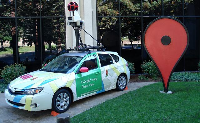 Speciale auto per riprese Google Street View